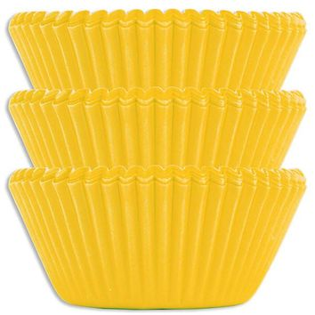 Electric Yellow Baking Cups