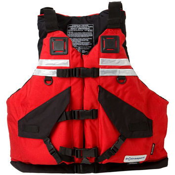 Extrasport Universal HiFloat Personal Flotation Device Red/Black, One