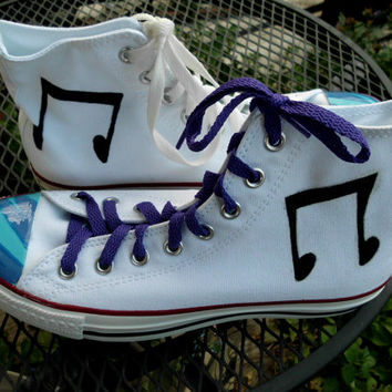 ANY SIZE Any Character My Little Pony Cutie Mark and Eyes Custom Painted Shoes Mens Womens Canvas Slip On