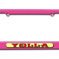 Yolla - Hello - Yo Holla License Plate Frame