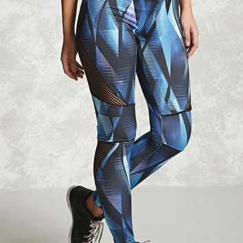 Active Geo Print Leggings