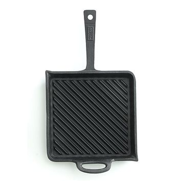 Bobby Flay 10.5-in. Pre-Seasoned Cast-Iron Nonstick Griddle
