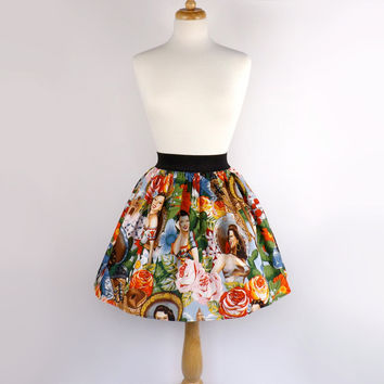 Aline Skirt / Mexican Senoritas Skirt