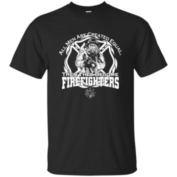 Men's Firefighter Created Equal Tee Shirt