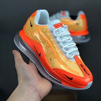 Heron Preston Nike By You Air Max 720/95 Orange White Women Running Shoes - Best Deal Online