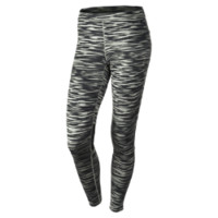 Nike Scratch Print Women's Leggings - Mine Grey