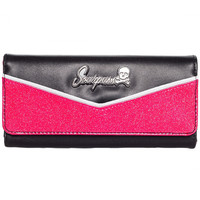 """""""MONROE"""" WALLET BY SOURPUSS CLOTHING (MAGENTO/BLACK)"""
