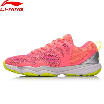 Li-Ning Women RANGER II LITE-Daily Professional Badminton Shoes Wearable Anti-Slipp LiNing Sports Shoes Sneakers AYTN034 XYY070