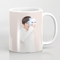 BTS Taehyung | Singularity Coffee Mug by marylobs