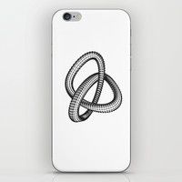 Shape 1 iPhone & iPod Skin by White Print Design