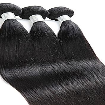 Brazilian Straight Hair (3 Bundles)