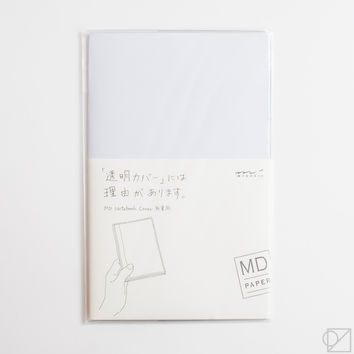 MD Notebook B6 Slim Clear Cover