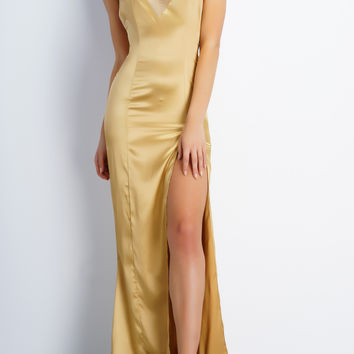 Xenia Dress - Gold