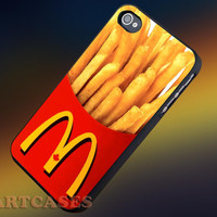 McDonalds French Fries iphone 4/4s case, iphone 5/5s,iphone 5c, samsung s3 i9300 case, samsung s4 i9500 case in SmartCasesStore.