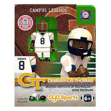 DEMARYIUS THOMAS GEORGIA TECH OYO MINIFIGURE NEW  SHIPPING