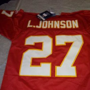 LARRY JOHNSON KANSAS CITY CHIEFS PREMIER JERSEY