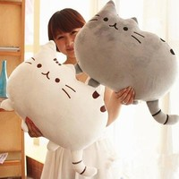 Cute Cushion Cat Plush Toys Stuffed Animal Doll Animal Pillow Toy For Kid Gift 40x30cm (FREE SHIPPING TO USA)