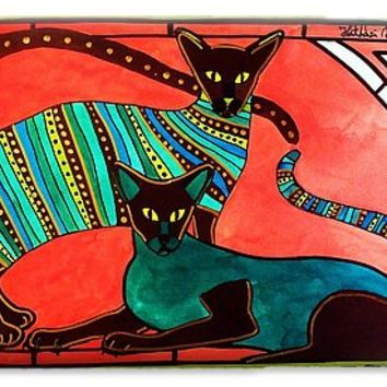 Legend Of The Siamese - Cat Art By Dora Hathazi Mendes IPhone 6s Case