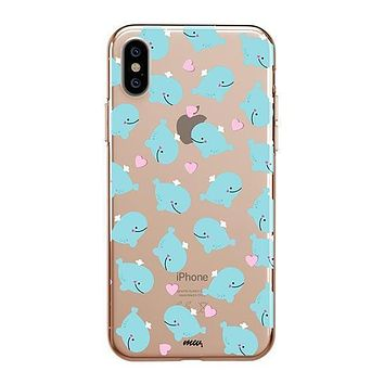Whale Tale - iPhone Clear Case