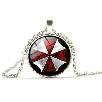 2017 Fashion Resident Evil Time Gem Necklace