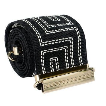 DCCK8X2 Versace Multi-Color Women's Waist Belt US XL IT 90;