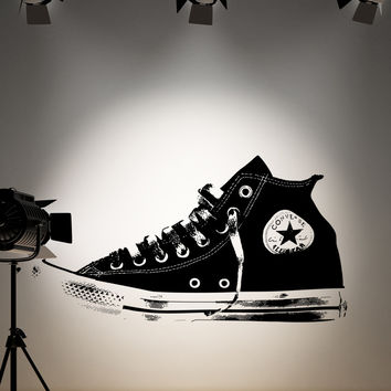 Vinyl Wall Decal Sticker Converse Sneaker #OS_AA167