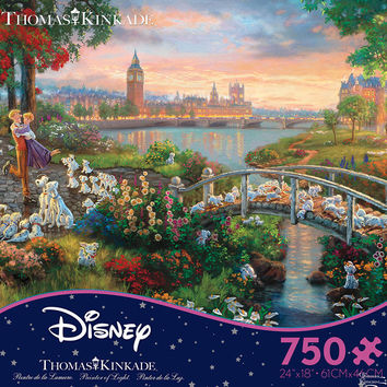 Ceaco Thomas Kinkade Disney 101 Dalmations 750 Piece Puzzle