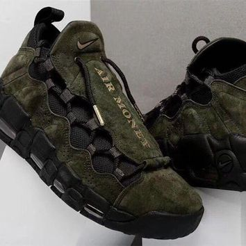 Nike Air More Money Uptempo US Dollar Sneakers Sequoia/Black AJ7383-300
