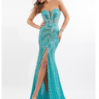 Sweetheart Beaded Pageant Dress Prima Donna 5675
