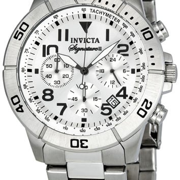 Invicta Signature II Mens Chronograph Quartz Watch 7350