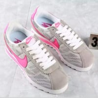 """NIKE"" Trending Fashion Casual Sports Shoes Grey Blue Colorful Contrast"