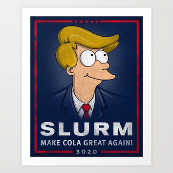 Make Cola Great Again! Art Print by Punksthetic