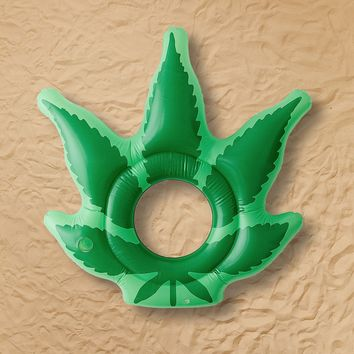 Weed Pool Float   Urban Outfitters