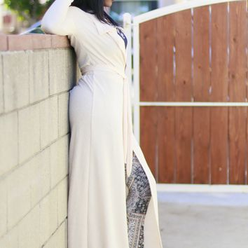Wrap Dress & Duster Maxi