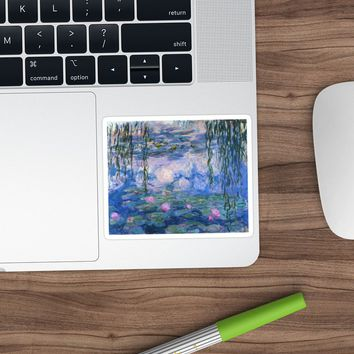 'Claude Monet - Water Lilies' Sticker by artcenter