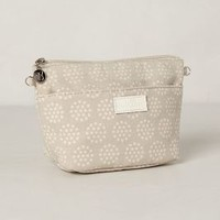 Dandelion Cosmetic Pouch by Anthropologie Silver One Size Clutches