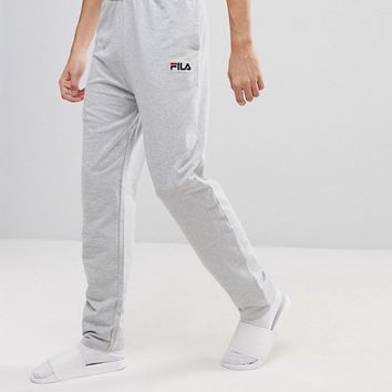 Fila Vintage Lounge Joggers In Gray at asos.com