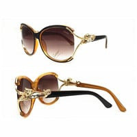 Perfect Cartier Women Fashion Popular Summer Sun Shades Eyeglasses Glasses Sunglasses
