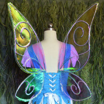 READY TO SHIP Periwinkle Disney Fairies Inspired Iridescent Fairy Wings