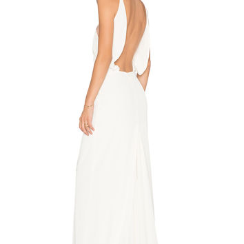 Assali Paola Grande Maxi Dress in Cream