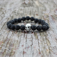 New Arrival Gift Stylish Hot Sale Shiny Awesome Great Deal Accessory Skull Yoga Bracelet [6464851649]