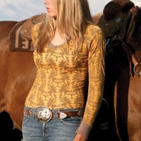 Long Sleeve Cruel Girl Urban Western Wear
