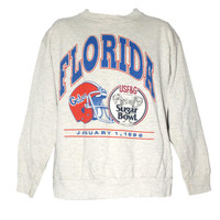 Vintage University of Florida Gators Football Crewneck Sweatshirt |  Adult Size XL | Jan 1, 1992 Student, Alumni, Graduate Graduation Gift