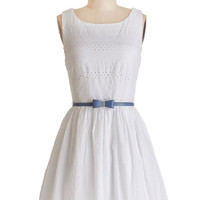 ModCloth Sleeveless A-line Springs True Dress