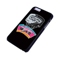 SAN ANTONIO SPURS 2 iPhone 4/4S 5/5S 5C 6 6S Plus Case Cover