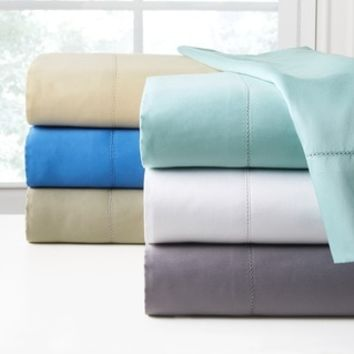Top Product Reviews for 410 Thread Count Long Staple Cotton Deep Pocket Oversized Sheet Set - Overstock.com