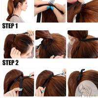 Wrap Round Clip In Pony Tail Hair Extensions