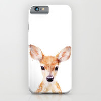 Little Deer iPhone & iPod Case by Amy Hamilton