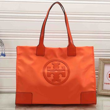 Tory Burch Trending Women Stylish Handbag Tote Shoulder Bag Orange
