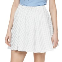 Disney's Alice in Wonderland a Collection by LC Lauren Conrad Gingham Skirt